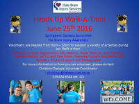 Volunteers Needed for Dale Brain Injury Services Walk-a-thon