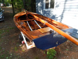 14 foot leader sailboat with trailer for sale