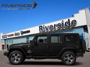 2016 Jeep Wrangler Unlimited Sahara  - Leather Seats - $242.31 B
