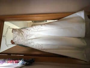Wedding dress, shoes, accessories