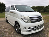 FRESH IMPORT 2005 FACE LIFT NISSAN ELGRAND RIDER V6 AUTO FOUR WHEEL DRIVE