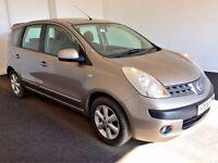 2006 06 Nissan Note 1.6 SE, Petrol, Automatic, 5 Door, Metallic Beige, 110 BHP, 98,000 Miles