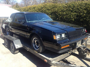 1987 buick grand national ONLY 21895 ORIGINAL KM