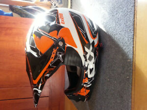 Casque de motocross CKX NEUF junior