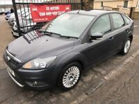 2010 FORD FOCUS TITANIUM TDCI, 1 YEAR MOT, WARRANTY, NOT ASTRA MEGANE 308 GOLF A3 3 SERIES