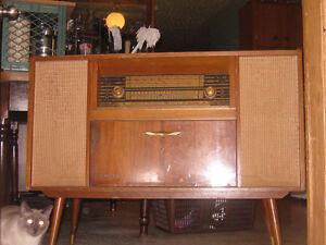 "Vintage ""Kubana"" cabinet radio/stereo system (50's-60's)"