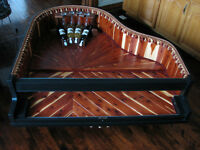 One of a Kind:  Baby Grand Wine Table