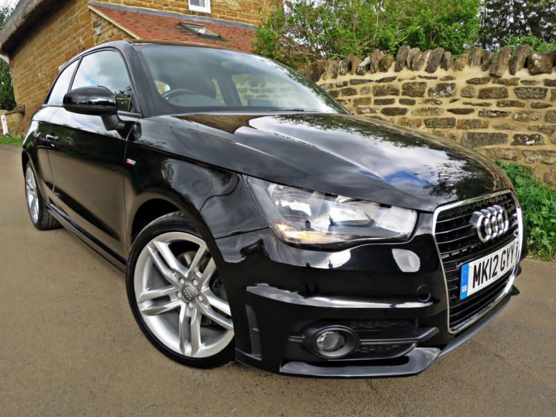 2012 audi a1 1 4 tfsi s line 122 ps in northampton northamptonshire gumtree. Black Bedroom Furniture Sets. Home Design Ideas