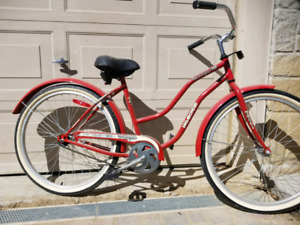 Ladies beach cruiser