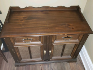 Phillips Vintage Stereo Cabinet