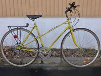 vélo de route pEUGEOT   vintage pneus neuf +mise au point p