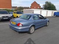 2002 02 JAGUAR X-TYPE 2.5 V6 SE 4X4 AWD.FANTASTIC COLOUR.12 MONTHS MOT.2 KEYS .