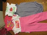 18 and 18-24m baby girl clothes $5 each picture