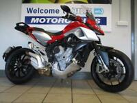 MV AGUSTA STRADALE 800 ABS VERY LIGHT DAMAGE 1591 MILES 65 PLATE CAT D