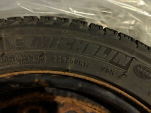 Winter tires Michelin X-Ice Xi3 225/50R17 pneus d'hiver + rims
