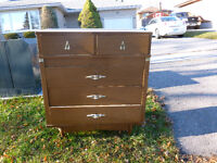Free Walnut coloured dresser in Ptbo