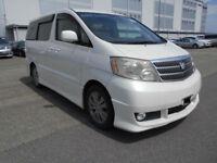 Toyota Alphard AS Premium, 2400cc, Pearl White, Auto, 36 month warranty