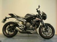 2017 TRIUMPH STREET TRIPLE RS 765 MILEAGE 6284