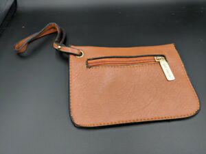 Tan/Black Coin Purse