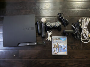 PS3 Console with PS Move Bundle