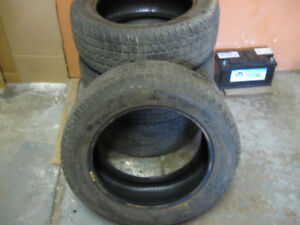 4 Winter tires Firestone 235/55R17 Crown Victoria Police back