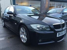 2006 56 BMW 320D M Sport 4DR FULL LEATHER, XENONS,SUNROOF, HEATED SEATS