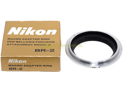 Nikon BR-2 anello inversione 52mm. x montare ottiche invertite x closeup. BR2