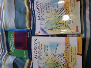 Personal  support  work textbooks and uniforms