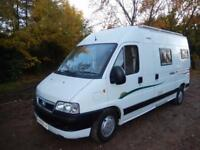 Trigano Tribute 2 Berth Rear Kitchen Campervan For Sale