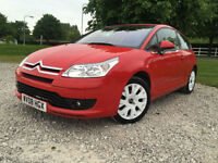 2008 Citroen C4 1.6HDi 16v (110bhp) by Loeb No 0063 Coupe Manual Diesel in red