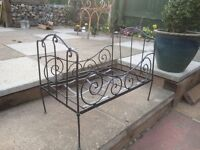 Antique French dolls day bed