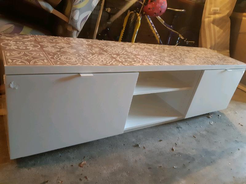 Upcycled Ikea TV / storage unit