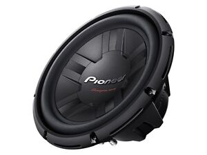 """12"""" Champion Series Subwoofer - Pioneer -Max. 1,400W Comme neuf!"""