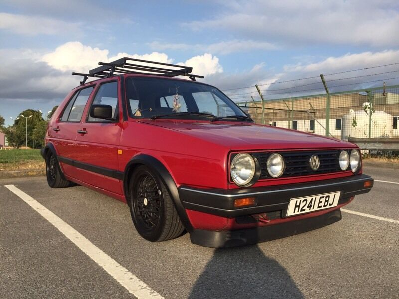 1990 vw volkswagen mk2 golf cl modified in folkestone kent gumtree. Black Bedroom Furniture Sets. Home Design Ideas