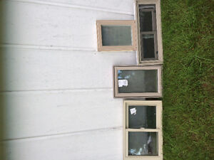 4 New operable smaller windows