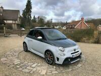 2018 ABARTH 1.4 16v T-Jet 595 160HP Turismo MTA FSH Electric Roof One Owner