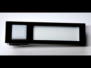 Klingel-Licht-Kombitaster Seko passenfür Renz 97-9-85089 integr.Namenschild