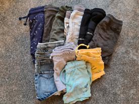 Boys 18-24 months clothes bundle, 50 items
