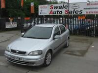 2003 VAUXHALL ASTRA SXI 1.6L FULL SERVICE HISTORY, 2 OWNERS FROM NEW