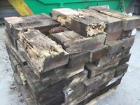 Firewood old sleepers £1 each