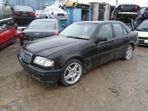 We are now parting out this Mercedes-Benz C230 2000 Kompressor