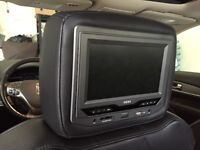 Headrest HDVD's w/ remotes & cordless headphones