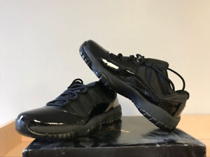All black Jordan 11 size 10.5