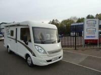 Hymer Exsis-i 414 A-Class 4 berth Rear fixed bed motorhome for sale