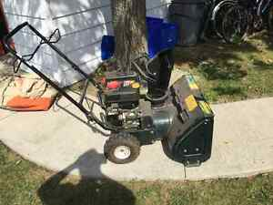 Snowblower & Chainsaw for Trade or Sale