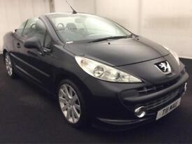 "PEUGEOT 207 CC 1.6HDi GT CONVERTIBLE [PRICE REDUCED] MOT..17""ALLOYS..DRIVES GOOD"