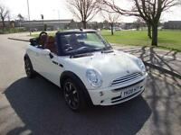 Mini 1.6 One Sidewalk Special Edition Convertible, 65000 Miles FSH, Leather
