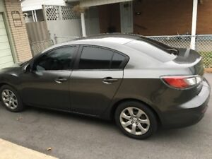 2012 Mazda 3  124,000 KM  (low mileage)