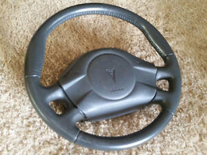 Steering wheel comes with airbag