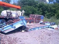 50 ton drop deck trailer